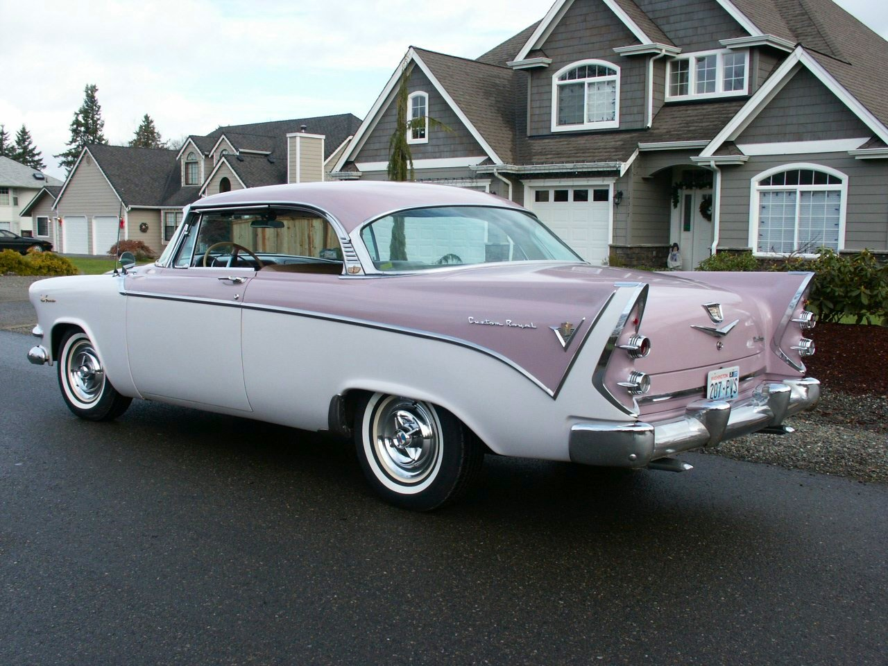 For 1956, Dodge elected to go